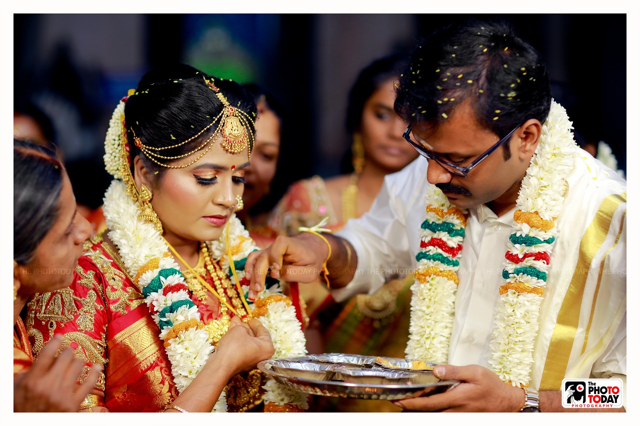 "Mangalyam Thandhunanena"",the most beautiful rhythmn that bonded our souls as one!!"