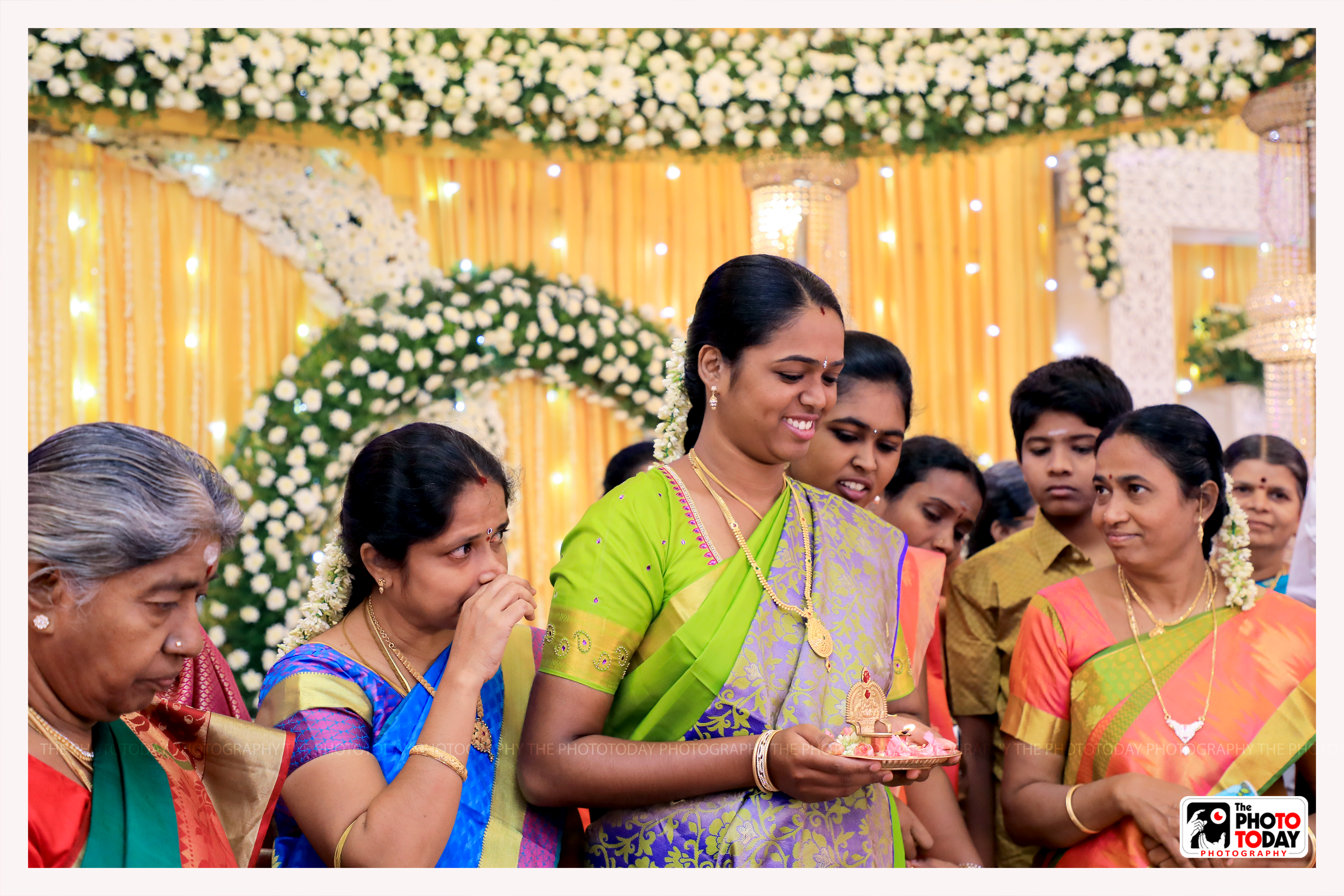 """Sounds of melam & thalam,talking & laughing all emanating from family members!! """"Family & friends"""" are the highlighters!! Highlighters, highlighted!!"""